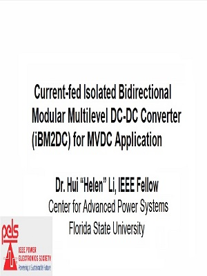 Current-fed Isolated Modular Multilevel DC-DC Converter (iM2DC) for